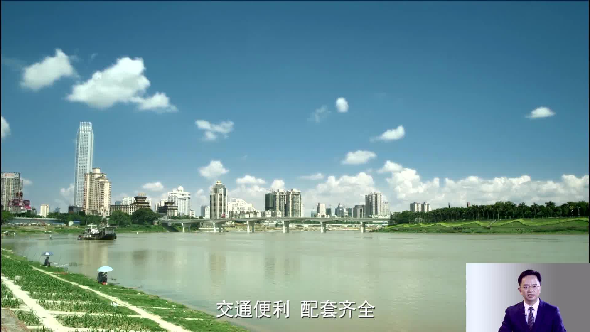 《为家乡推介》南宁市青秀区委书记王永超